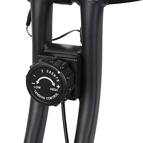 X-MAG Folding Workout Cycling Fitness Magnetic Upright Exercise Bike With LCD Screen