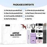 Morovan Acrylic Nail Kit Acrylic Powder and
