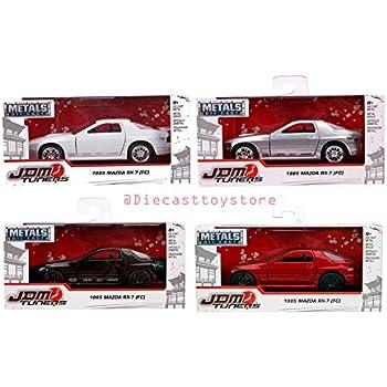 JADA 1:24 N//B 1985 MAZDA RX-7 FC3S DIE-CAST RED 99755