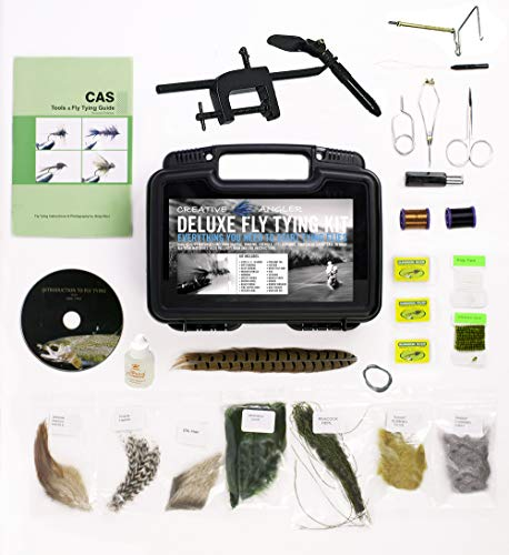 Creative Angler Deluxe Fly Tying Kit for Tying Flies. Our