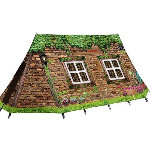 とらえどころのない恐竜スポンジZisen キャンプテント 登山テント 超簡単組立ドームタイプ ポータブル 軽量 UVカット 防風 防雨 通気性 テント キャンプ クリエイティブデザイン 四季通用