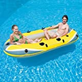 Ozark Trail Raft Sturdy Comfortable 4-Person Inflatable Boat, 13687, Perfect For Floating, Rowing Or Towing