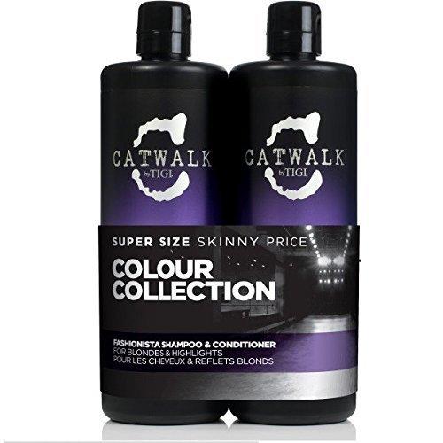 Catwalk Tigi Fashionista Blonds and Highlights Shampoo & ...