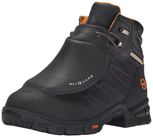 Safety Metatarsal Boots Guard (Timberland PRO Men's Excave External Met Guard Work Boot,Black Split Leather,10.5 W US)