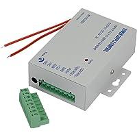 YAVIS Netzteil Tür Zugangskontrolle System Netzschalter 3A 110-240 V AC auf 12 V DC für Alle Arten Access Control System Türschloss mit Zeitverzögerung K80