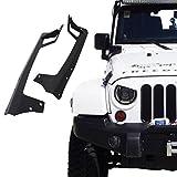 Xprite 52-inch LED Light Bar Upper Windshield Mounting Bracket 2007-2016 Jeep Wrangler JK 4WD, Wrangler Unlimited JK 4WD/2WD by Xprite