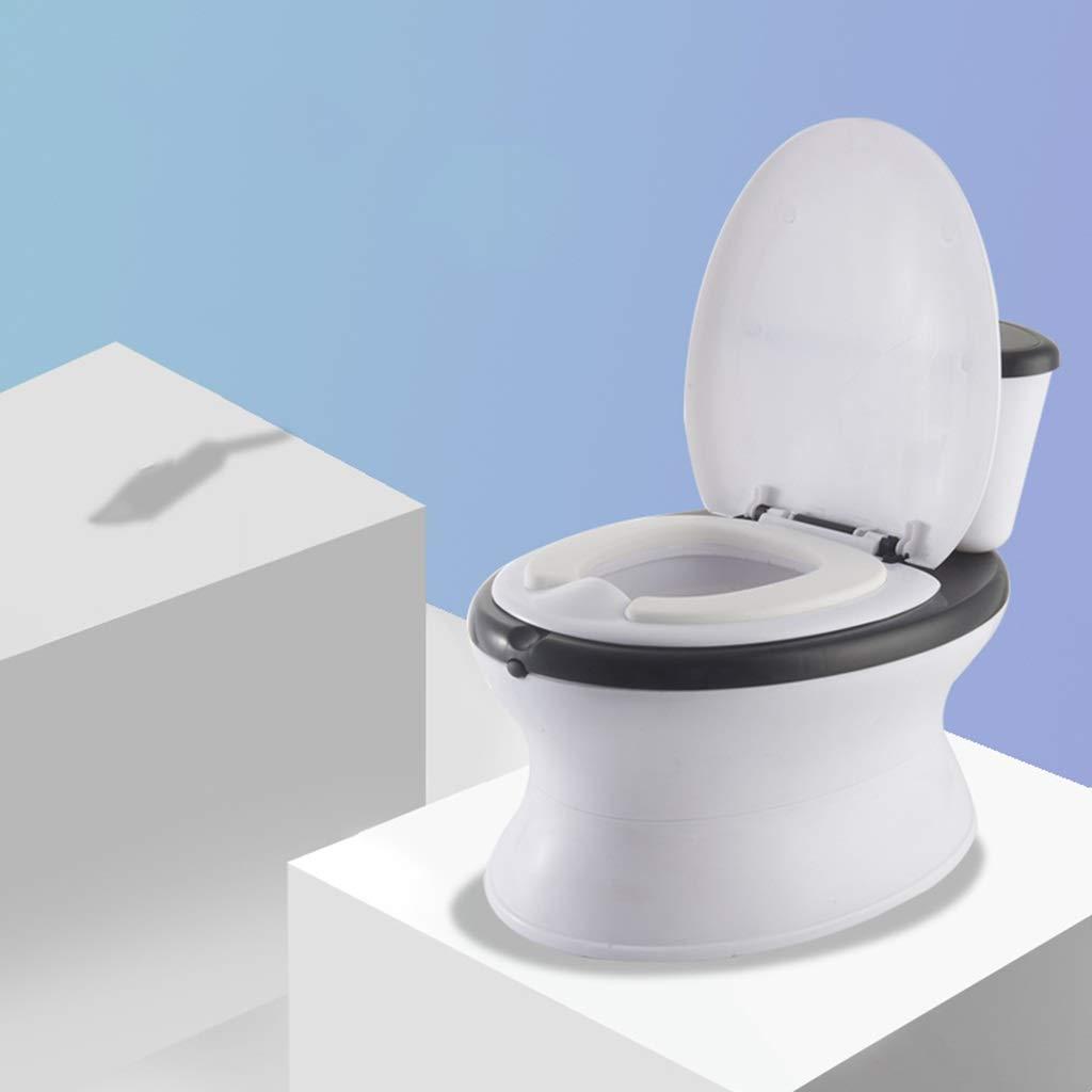 XWJC Children's Toilet Toilet Female Baby Large Child Urinal Toilet Bowl Children Simulation Toilet Household 0-8 Years Old