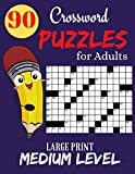 Crossword Puzzles for Adults Large Print: Easy to