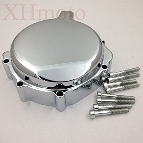 HTT- Chrome Custom Made Aluminium Engine Stator Cover For Suzuki 2001-2003 GSX-R 600/ 2000-2003 GSX-R 750/ 2001-2002 Suzuki GSX-R 1000