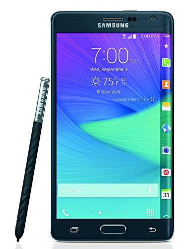 Samsung Galaxy Note Edge, N915P 32GB Charcoal Black - Sprint (Certified Refurbished)
