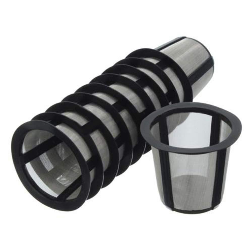 VEIREN 10 Pack Coffee Filter Basket Replacements, Stainless Steel Mesh for Keurig Cuisinart My K-Cup