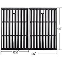 2598 Replacement Cast Iron Cooking Grid (Set of 2) For Bakers and Chefs, BBQ Barbecues Galore, Brinkmann, Broil-mate, Charbroil, Capt'n Cook, Charmglow, Grand Hall, Grill Chef, Grill Mate, Grillpro, Members Mark, Sams Club, Sterling & Turbo Gas Grill