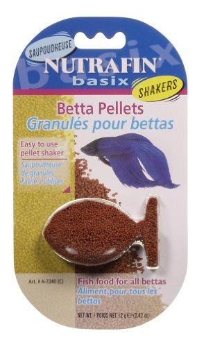 Nutrafin Basix Betta Food, 0.42-Ounce - Hagen Fish Pellets