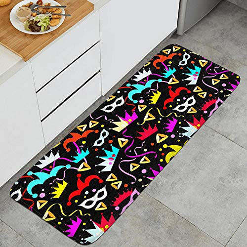 Rubber Non Slip Bathroom Mats 17.7