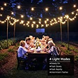 LE Solar Outdoor String Lights LED Patio
