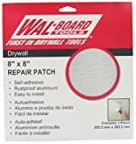 "Walboard Tool 54-007 8"" X 8"" Drywall Repair Patch"