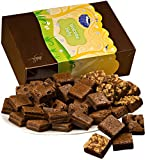 Fairytale Brownies Welcome Baby Magic Morsel 36 Gourmet Food Gift Basket Chocolate Box - 1.5 Inch x 1.5 Inch Bite-Size Brownies - 36 Pieces