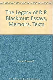 blackmur essay r.p selected