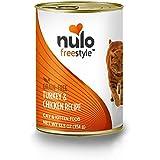 Nulo Grain Free Canned Wet Cat Food (Turkey & Chicken, 12.5 oz, Case 12)