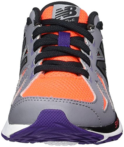 New Balance Unisex-Kinder 790v6 Sneakers, Mehrfarbig (Orange/Black), 35.5 EU