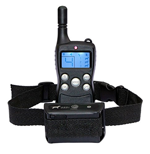 PeTuition Dog Training Collar with Remote, 100 % Waterproof