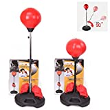Children Punching Ball Kids Boxing Bag Speed ball Set with Gloves and Pump