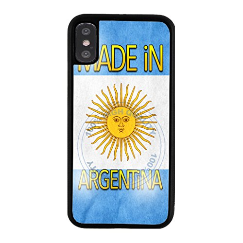 BleuReign Made in Argentina Rubber Phone Case for Apple iPhone X Xs Ten