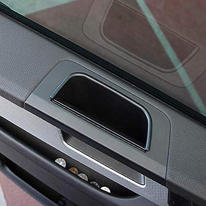 2 cajas de almacenamiento para puerta delantera de coche