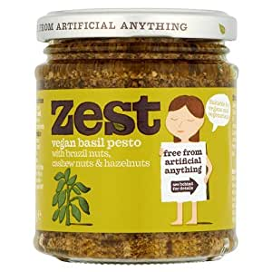 Zest Vegan Basil Pesto (165g)