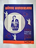 img - for WINTER WONDERLAND [Sheet Music] book / textbook / text book