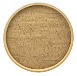 """Natural Cork 16"""" Round Serving Tray"""