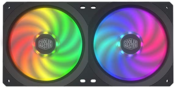 Cooler Master MasterFan SF240P ARGB 240mm Square Frame Fan w// 56 Independently-C