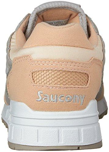 Originali Saucony Donna Ombra 5000 Fashion Sneaker Grigio / Rosa Chiaro