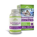 Peak Life Somnapure, Non-Habit-Forming, Gentle Sleep Aid with Melatonin & Valerian, 30 Count