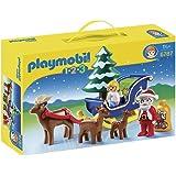 Playmobil 6787 - Babbo Natale, Slitta 1.2.3