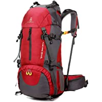 Outdoor Pack, Andoer 60L Hiking Backpack Water-resistant Outdoor Sport Trekking Mountaineering Travel Backpack with Shoe…