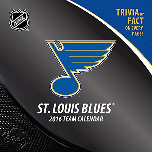 Turner St Louis Blues 2016 Box Calendar, January-December (8051469)