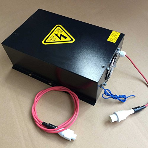 HQ Professional Power Supply for 80w CO2 Laser tube Engraver Cutter 110V by HY
