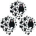 TRiNiDAD(トリニダード) 折りたたみフライト くまモン柄 スタンダード (ダーツ フライト) F 三角の商品画像