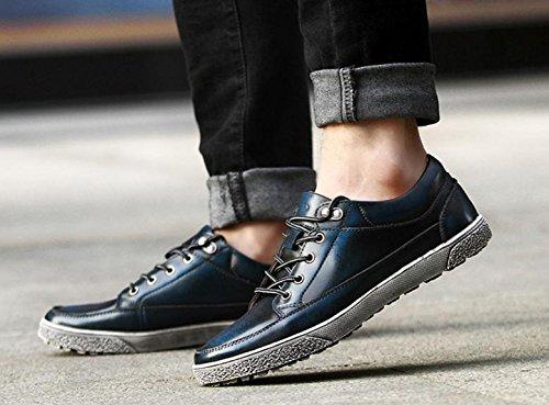 2017 zapatos ocasionales de los nuevos hombres de moda de cuero de los zapatos retro 2