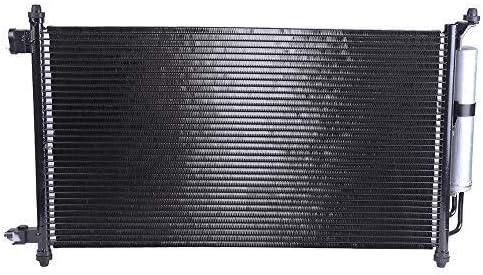TUPARTS TUPARTS AC A//C Condenser AC3594 fit for 2009 2010 2011 2012 2013 Nissan Cube 1.8L 2007 2008 2009 2010 2011 2012 Nissan Versa 1.6L 1.8L