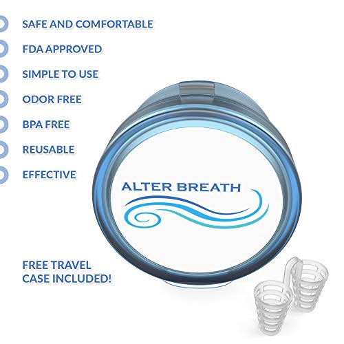 Nose Vents - Snore Stopper Nose Vents - Stop Snoring Nasal