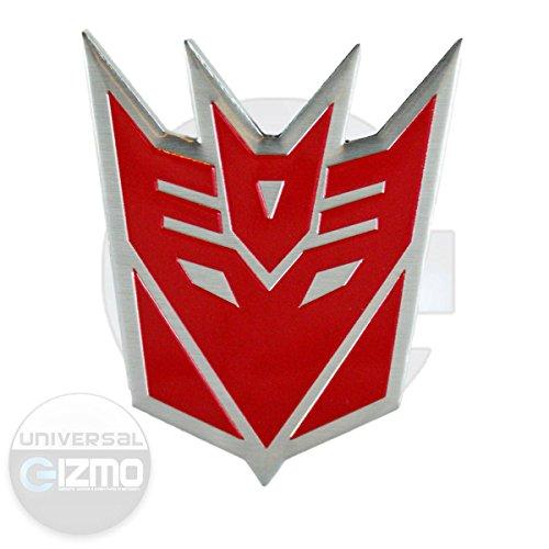 Transformers Decepticon Car and Window Aluminum