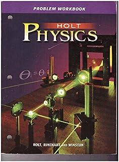 Amazon com: Holt Physics: Problem Workbook (9780030368332): RINEHART