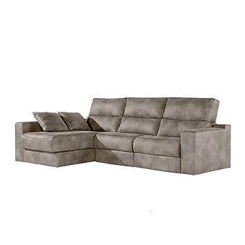 Zendo Sofas da Vinci sofá Chaise Longue a Izquierda 2 Relax ...