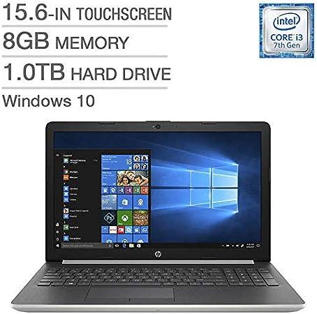 Hp 15 Da0093ca Laptop I3 7020u 15 6 Touchscreen 8gb 1tb Amazon Ca Computers Tablets