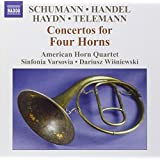 Concertos for Four Horns