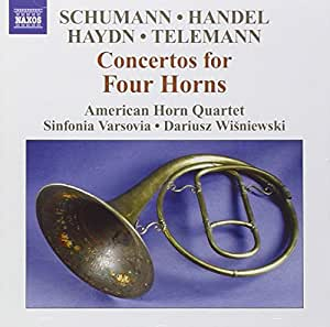 Concertos for Four Horns