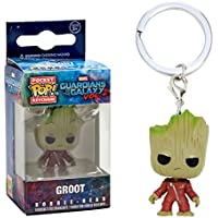 Chaveiro Groot - Pocket Funko Pop - Guardiões Galáxia 2