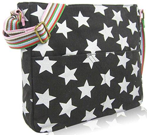Animal Shoulder Design Handbag Pineapple Various Handle Umbrella And Crossbody Bag Anchor Top Star Tote Kukubird Black 5PRq0